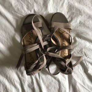Sam Edelman // lace up sandals